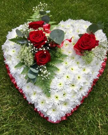 Standard Funeral Heart