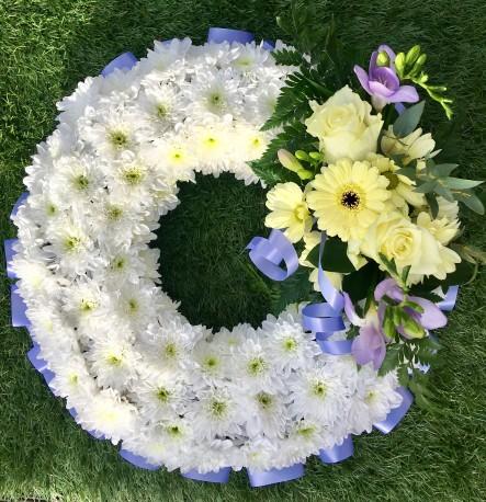 Lilac and Lemon wreath