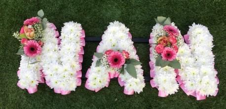 NAN Funeral Tribute Pink