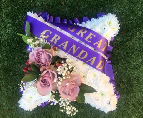Great Grandad Funeral Pillow
