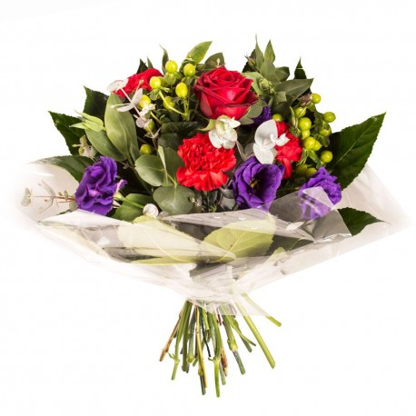 For My Sweetheart Hand tied flower bouquet