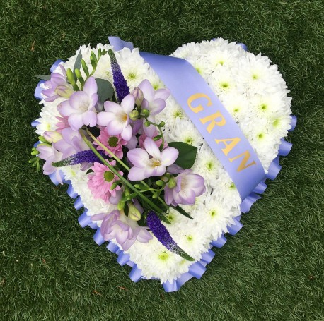 Gran Funeral Heart