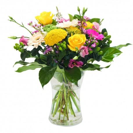 The Happy flower Vase