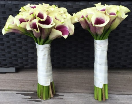 Brides maid Calla Lillie bouquet