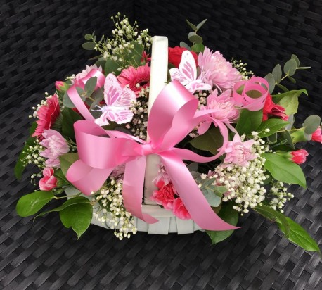 Butterfly Flower Basket