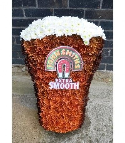 Beer Glass Funeral Tribute