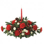 Christmas Candle Arrangment