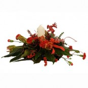 Large Christmas Candle Arrangment