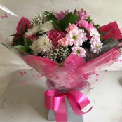 Just for Mum hand tied flower bouquet