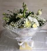 Snowflake flower bouquet