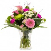 Bring a Smile Hand tied flower bouquet