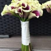 Brides maid Calla Lillie bouquet