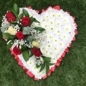 Deluxe Funeral Heart