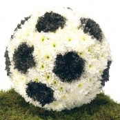 Football Funeral Tribute