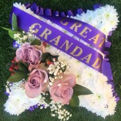 Great Grandad Funeral Pillow